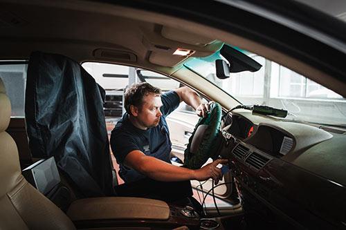 Autobewertung-Computertest